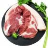 喜乐田园 新鲜黑土猪肉生鲜1.5kg农家散养猪肉无注水无激素 后腿肉1500g
