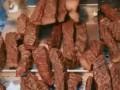 草原牛肉干正在制作中,工厂直销卫生又便宜,肉香耐嚼 (0播放)