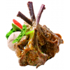 赤豪原味生羊排羊肉单排切割1000g 法式羔羊排七骨羊排