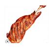 贝尔额吉 现烤羊腿 内蒙古 呼伦贝尔炭烤羊腿 整条即食 碳烤